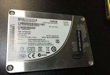 SSD disk Intel 160GB 320 Series