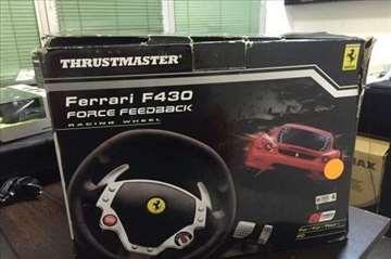 Thrustmaster Ferarari F430 feedback