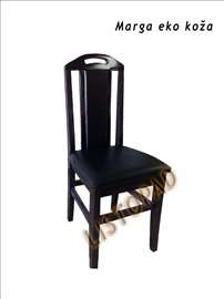 Trpezarijske stolice Marga od eko kože