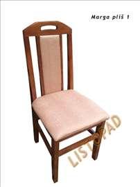 Trpezarijske stolice pliš Marga