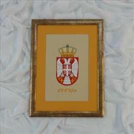 Vez grba Srbije