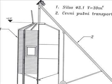 Silos Ø3,1 m