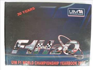 Knjiga:Formula 1na vodi,2010.g.A 4 format,168 str