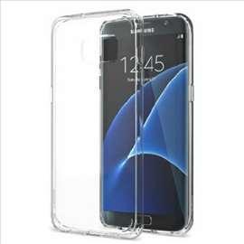 Akcija Samsung S7 EDGE providna plastična futrola