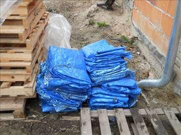 Vreće za uvrećavanje mlevene plastike ili odlivaka