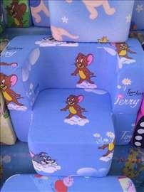 Dečje foteljice od sunđera