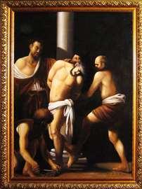 Caravaggio slika replika bičevanje Hrista