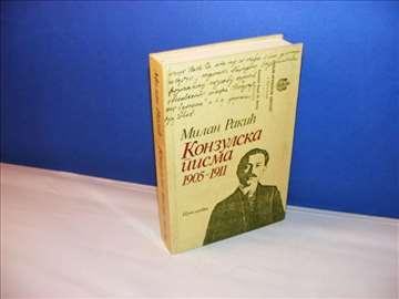 Konzulska pisma 1905-1911, Milan Rakić