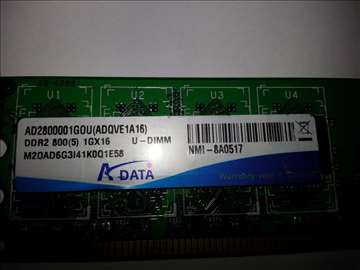 A-data 1GB ddr2 800 1gx16