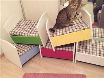 Krevetići za životinje i lutke