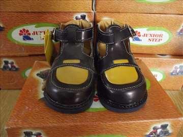 Kožne nove cipele za decu sa anatomskim ulošcima