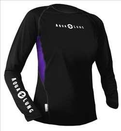 Majica Aqualung Loose fit ženska, duga