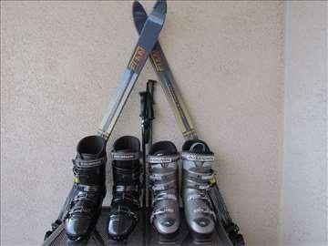 Ski komplet (2 para ski cipela)