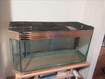 Akvarijum 200l sa pratećom opremom