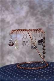 Bakarni stalak za nakit - ručni rad