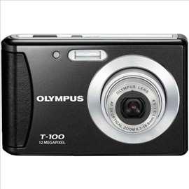 Digitalni fotoaparat Olympus T - 100, crni
