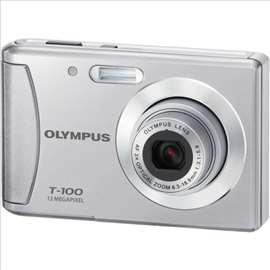 Digitalni fotoaparat Olympus T - 100, srebrni