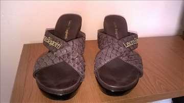 Kožne papuče Laura Biagoti