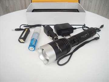 Baterijska CREE Led lampa 10000W,1200Lm