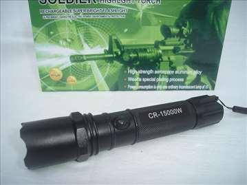 Baterijska Led lampa Soldier 15000W