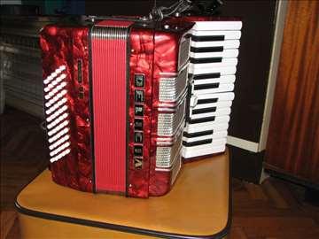 Harmonika Delicia 60 basova