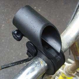 Nosač lampe za bicikl tunelski