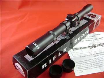 Optika 4x20 sa nosačima