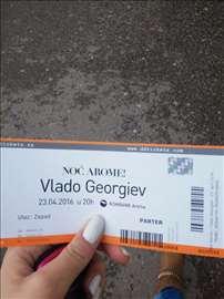 Prodajem karte za koncert Vlade Georgijeva