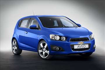 Chevrolet Aveo - Rent A Car - Martello Plus
