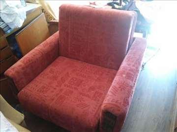 Krevet i fotelja