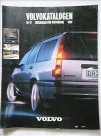 Katalog Volvo 1997.god, A4, švedski, 130 str.