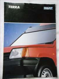 Prospekt Seat Terra, A4, italijanski, 5 str.