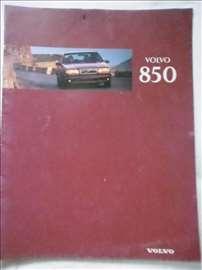 Prospekt Volvo 850, A 4, slovenački, 9  str.