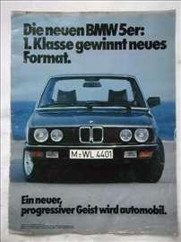 Prospekt BMW  5, nemački, A4,8 str.