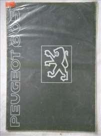 Prospekt Peugeot 605, A4, 17 str, francuski