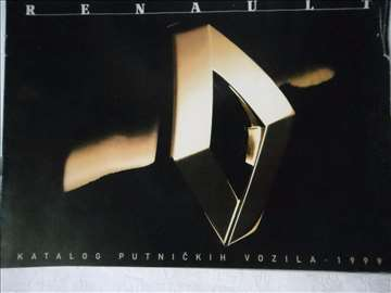 Prospekt  Renault program 1999,srpski,A4,8 str.2 k
