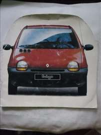 Prospekt Renault Twingo,prošireni A4,12str.oštećen