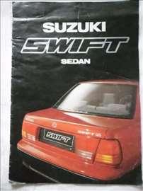 Prospekt Suzuki Swift, A 4, 12 str, nemački