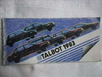 Prospekt Talbot, 1983, mali format, 21 str.