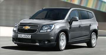 Rent A Car - Martello Plus - Chevrolet Orlando