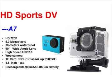 Sportska vodootporna kamera A7 HD
