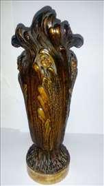 Izuzetno vredna umetnina,bronzana vazna na prodaju