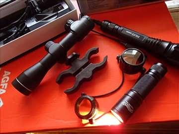 Nosac za optike i lampe
