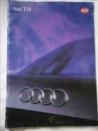Prospekt Audi TDI, 1993, A4, 43 str, nemacki