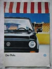 Prospekt VW Polo,1989, A4,39 str. nemacki