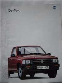 Prospekt VW Taro,1995, A4, 16 str. nemački, 3 kom