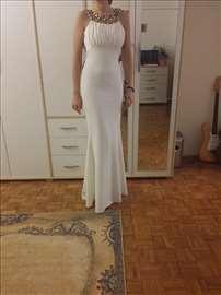 Svečana bela haljina