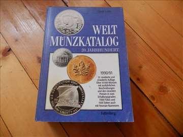 Weltmunzkatalog 20. Jahrhundert 1990/91