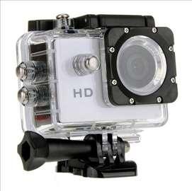 A7 HD sportska vodootporna kamera siva