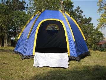 Šator za 6 osoba 2 x 2,5 x 1,5m